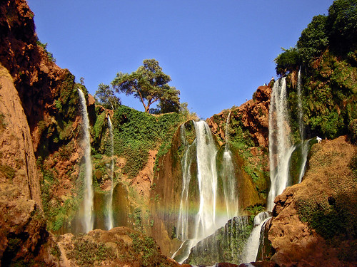 Ouzoud Waterfalls outside Marrakech, Day excursion departing from Marrakech Morocco