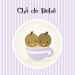 Ch de Beb (Cuca Mafalda) Tags: cup illustration twins babies tea beb ilustrao ch