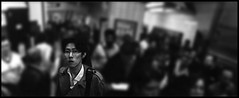 (crack jackson jr) Tags: blackandwhite bw london film underground tube piccadilly 400 diafine ilford horizonkompakt