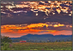 Red Hot! 100+ degree temps (Pretorious Photography) Tags: wood old trees sunset sky bw horse cloud sun white mountain storm black mountains hot color colour art colors strange beauty grass weather silhouette clouds barn sunrise landscape photography landscapes weird blackwhite weeds woods paint colours searchthebest space country barns silhouettes sunsets super structure wv westvirginia valley rays hay sunrises sunrays storms coolest beautifil skys royalty hdr naturesfinest supershot abigfave pretorious anawesomeshot impressedbeauty flickrdiamond ysplix theunforgettablepicture colourartaward photoshoproyalty
