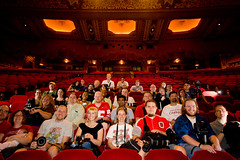 Columbus Flickr Meet Group Photo (fensterbme) Tags: 20d interestingness personal wideangle groupphoto flickrmeetup canon1022mm ultrawideangle fensterbme interestingness72 i500 ohiotheater strobist canon1022mmf3545efs ultrawidelens columbusflickrmeetup cmhflickrmeet092207 explore22sep07