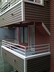 neighbors' balconies, trim added