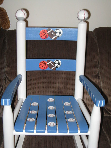 JSL new rocking chair from Uncle D & Aunt R