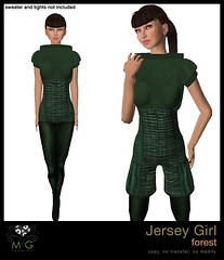 [MG fashion] Jersey Girl (forest)