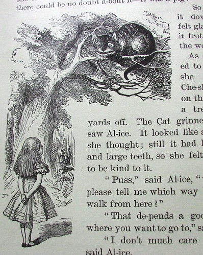 alice in wonderland syllables four