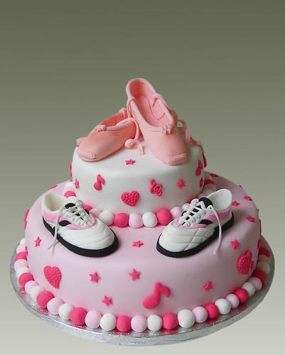 Ballet Music Cake