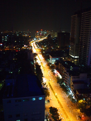 Nightview of Hanoi