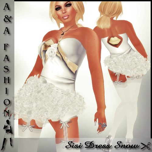 A&A Fashion Sisi Dress Silver