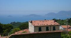 Gulf of Poets (Nevica) Tags: trees sea islands liguria roofs portovenere boccadimagra montemarcello isolapalmaria isoladeltino bayofthepoets