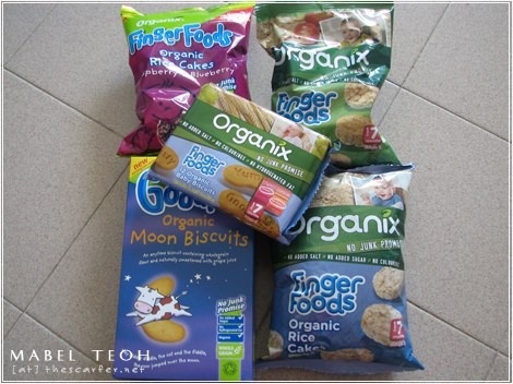 Food: Organix finger foods