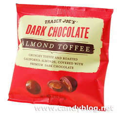 Trader Joe's Dark Chocolate Almond Toffee