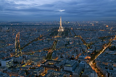 France - Paris 75014 - Skyline (Thierry B) Tags: panorama france skyline night geotagged photography frankreich europe cityscape exterior photos outdoor dr frana panoramic toureiffel montage getty monuments geotag fr extrieur iledefrance parijs idf gettyimages pars  panoramique parigi  tourmontparnasse panoramico geolocation pras  photographies gustaveeiffel 75014   visit75014   verticales  horizontales toitsdeparis europedelouest   heurebleue    cooliris   parisrooftops concordians gotagg thierrybeauvir  beauvir wwwbeauvircom droitsrservs heuremagique  20101027