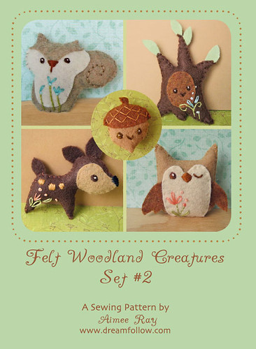 woodland creatures pattern set #2!