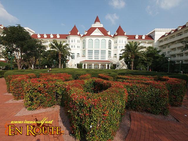 Victorian Style Disneyland Hotel