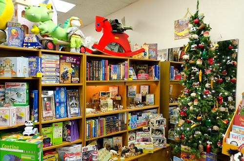 Woodland Tree + Toys