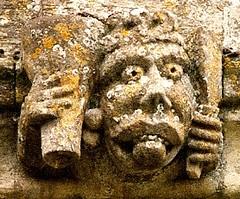 Aldsworth Wild Man (tina negus) Tags: church carving medieval gloucestershire wildman aldsworth