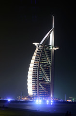 Burj Al Arab (seven years) Tags: night skyscraper hotel al dubai shot uae arab bling burj