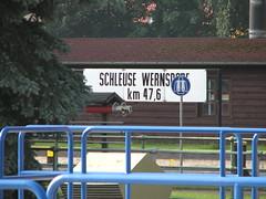 Schleuse Wernsdorf km 47,6