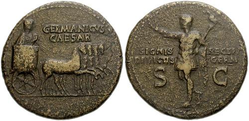 922 Germanicus Caesar Dupondius