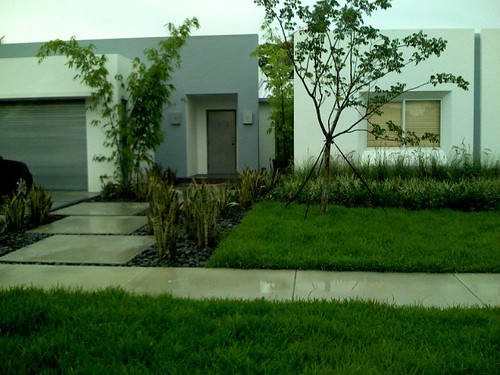 modern front yard landscaping pictures. metal) and front yard,
