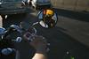 (sgoralnick) Tags: reflection me mirror ride helmet motorcycle phillip rearview sgoralnick phillipckim flickr:user=sgoralnick