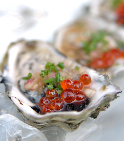 Hama Hama Oysters with Mignonette