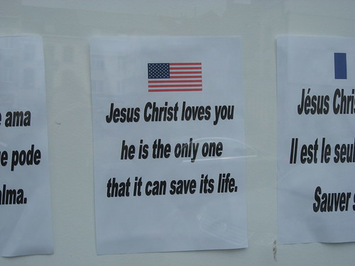 Jesus can save itself, apparently by Londo Mollari