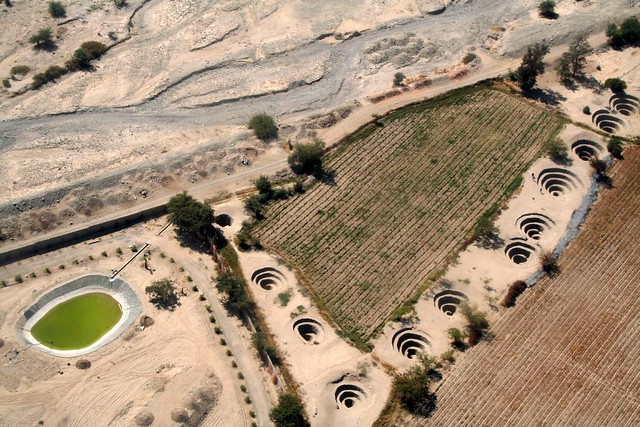 Nazca Aqueducts, water saving