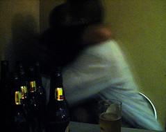 friends again (karen lee hall) Tags: friends beer reunion bar hug harry bodylanguage story utata luis decisivemoment utatafeature