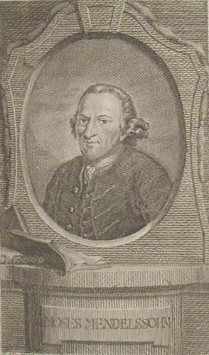Moses Mendelssohn Engraving