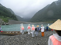 Kawabune+Kudari in Kumano river