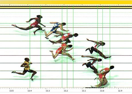 hurdles finish