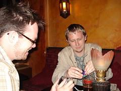 Brian, Adam, Prague