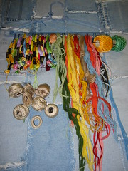 Airing Embroidery Floss, etc