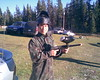 Eric with Paintball Gun
