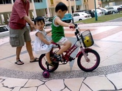 Start them young with the cycling