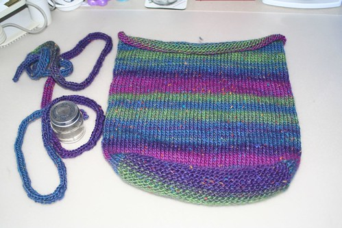 Nashua Handknits - Booga Bag Prior to Felting