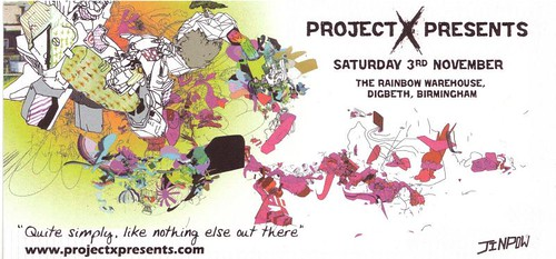 Project X Presents Flyer