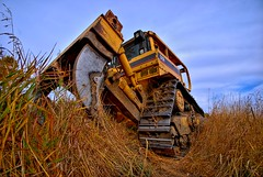 Rip it Up (A guy with A camera) Tags: tractor canada grass cat construction nikon machine sigma caterpillar machinery alberta heavyequipment 1020mm bulldozer crawler d8r blueribbonwinner d80 abigfave anawesomeshot diamondclassphotographer