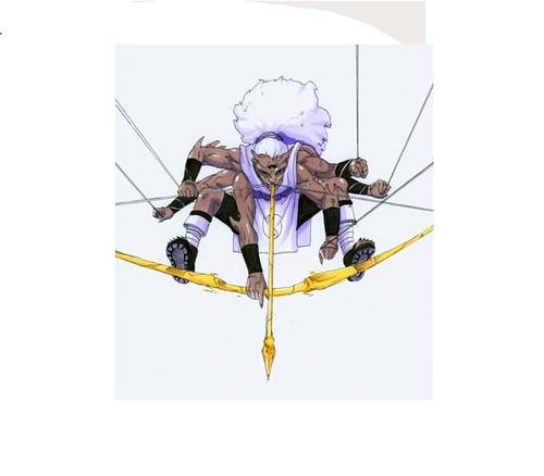 Kidomaru Cartoon Character