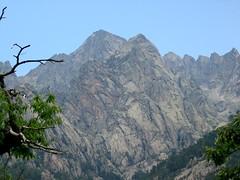 Face Sud du massif de la Punta Alle Porta