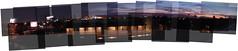 Sunset panograph (apccool) Tags: sunset panorama sunrise losangeles hollywood hollywoodhills panograph