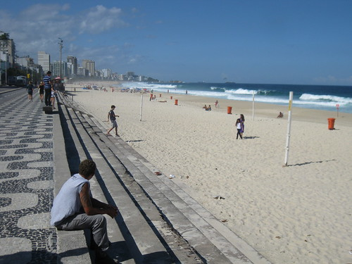 Just west of Ipanema Beach