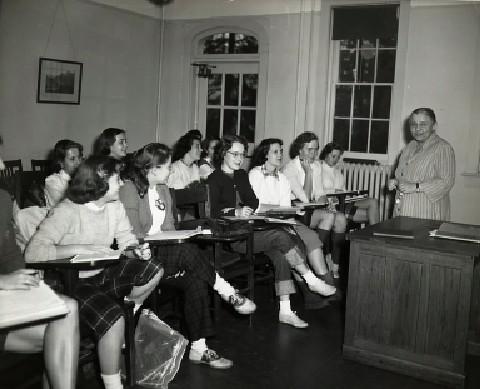Catherine Wolkonsky teaching