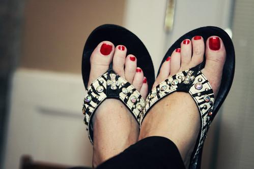 my flip flops