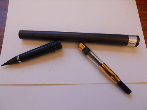 Brush Pen and Fountain Pen Converter pt 1