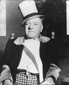 Image of W.C. Fields in top hat