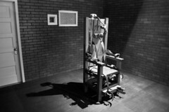 Old Sparky (cbonney) Tags: electric museum chair texas huntsville southern prison stories sparky execution