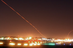 "Anatomy Of A ""Touch And Go"" (Kris Klop) Tags: longexposure night plane airplane airport nightshot aircraft aviation des cessna dsm moines desmoines c172 touchandgo kdsm"