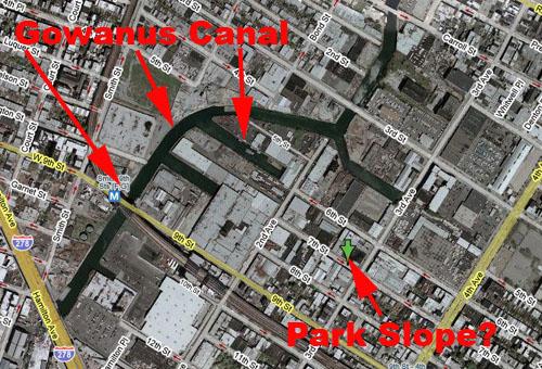 Gowanus-Park Slope Map